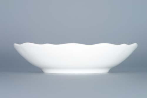 Cibulák podšálek zrcadlový ZB 14 cm originální cibulákový porcelán Dubí, cibulový vzor,