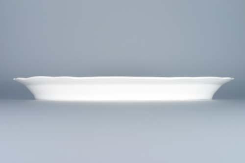 Cibulák Talíř dělený 35 cm originální cibulákový porcelán Dubí , cibulový vzor,