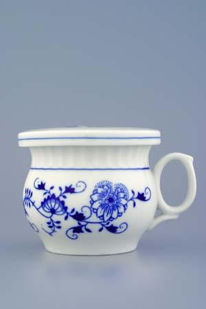 Cibulák Víčko překrývací 9,6 cm originální cibulákový porcelán Dubí, cibulový vzor,