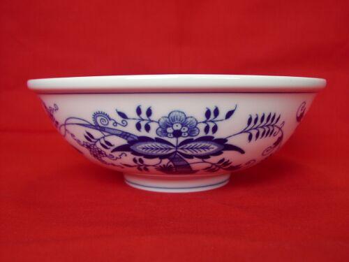 Cibulák miska Ramen 20,3 cm originální cibulákový porcelán Dubí, cibulový vzor,