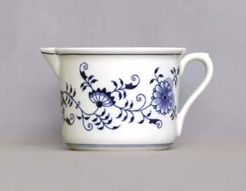 Cibulák hrnek Vařák velký s hubičkou 0,90 l originální cibulákový porcelán Dubí, cibulový vzor,