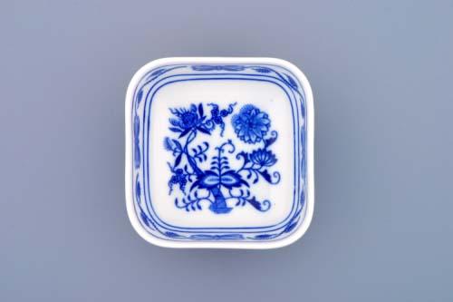 Cibulák miska AERO malá 9,5 cm originální cibulákový porcelán Dubí, cibulový vzor