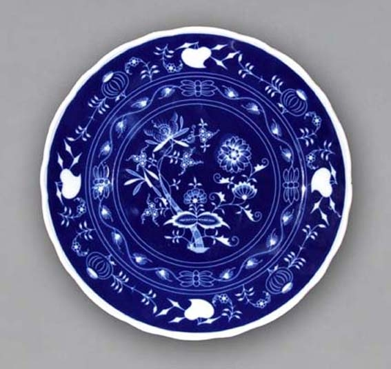 Talíř klubový 30 cm - NEGA cibulák, cibulový porcelán Dubí