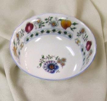Miska kompotová vysoká 14 cm Nature barevný cibulák, cibulový porcelán Dubí