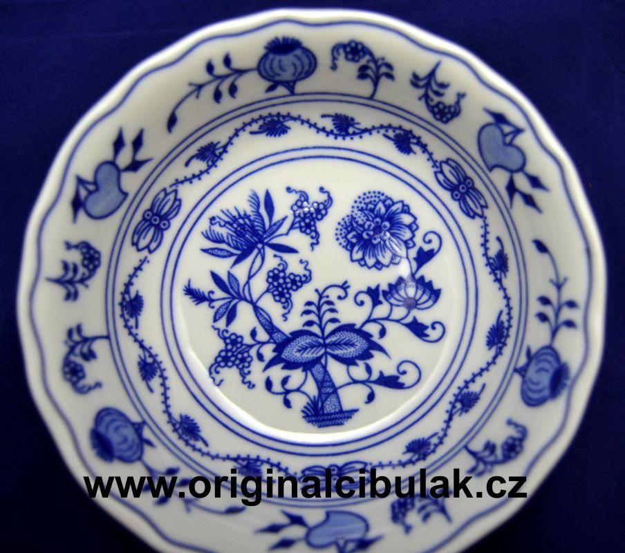 Cibulák miska kompotová 14 cm český porcelán Dubí