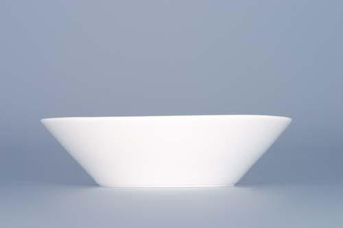 Podšálek káva čaj Bohemia White 10 cm prof. Pelcl český porcelán Dubí