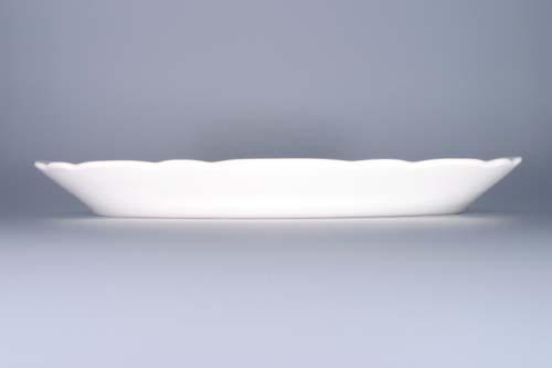 Mísa porcelán bílý oválná 35 cm Český porcelán Dubí