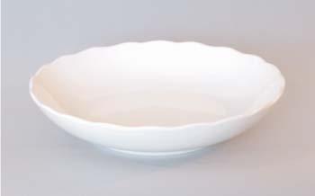 Mísa kompotová porcelán bílý 24 cm Český porcelán Dubí