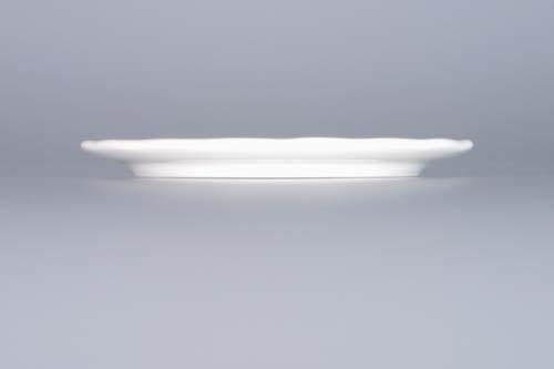 Podložka porcelán bílý pod sklenici 10 cm Český porcelán Dubí