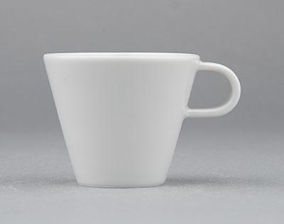Šálek porcelánový bílý Hotelový na mocca espresso 0,05l Český porcelán Bohemia Dubí