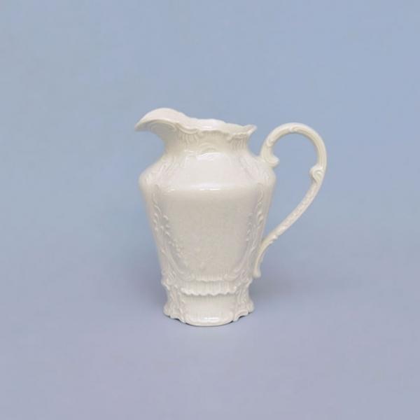 Mlékovka porcelánová bílá Opera 0,20 l Český porcelán Dubí