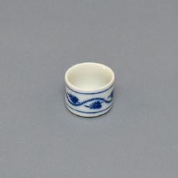 Víčko k dóze na čaj 12 cm originální cibulákový porcelán Dubí, cibulový vzor,