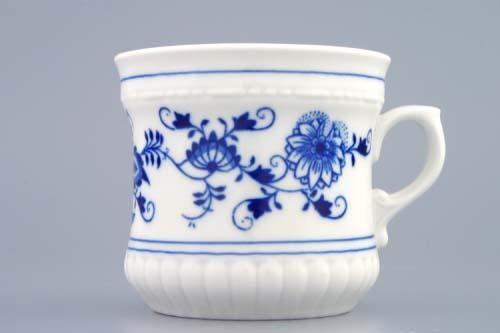 cibulák hrnek Perlový velký 0,37 l český porcelán Dubí