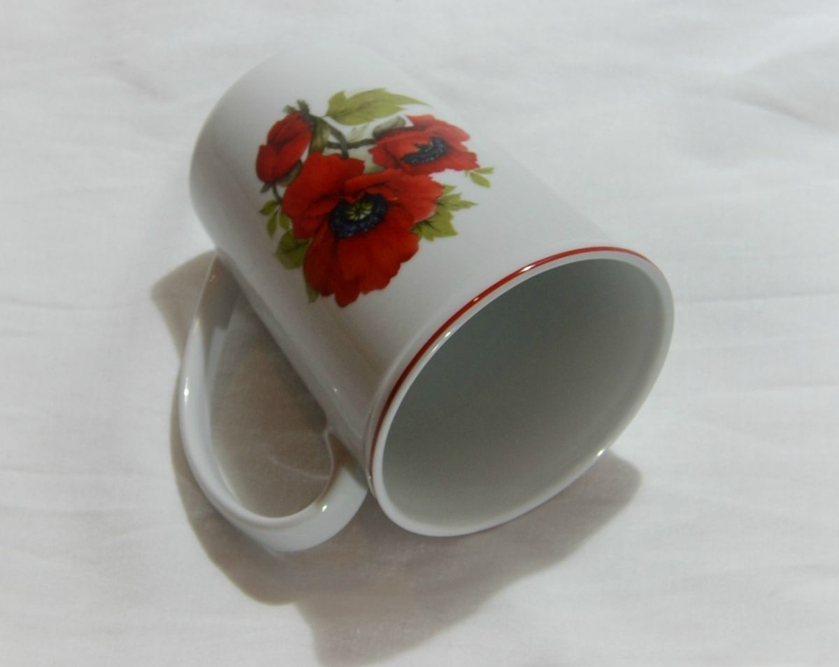 Hrnek s potiskem velký porcelánový Český porcelán a.s. Dubí Erin Máky