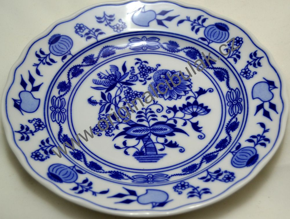 Cibulák talíř dezertní 19 cm Český porcelán a.s Dubí