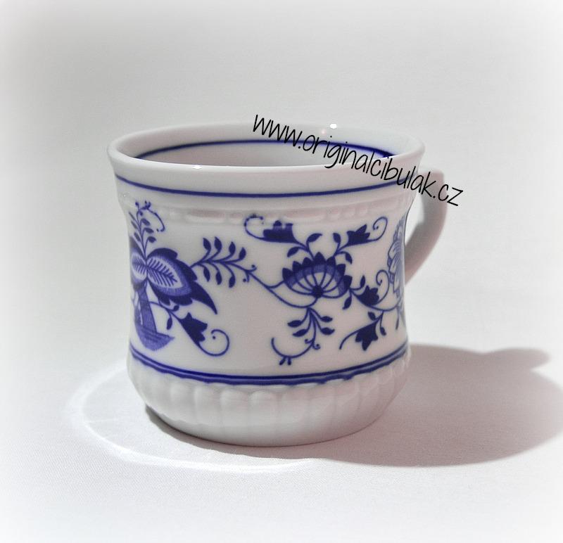 Dubí Cibulák hrnek Perlový malý 0,26 l originální cibulákový porcelán