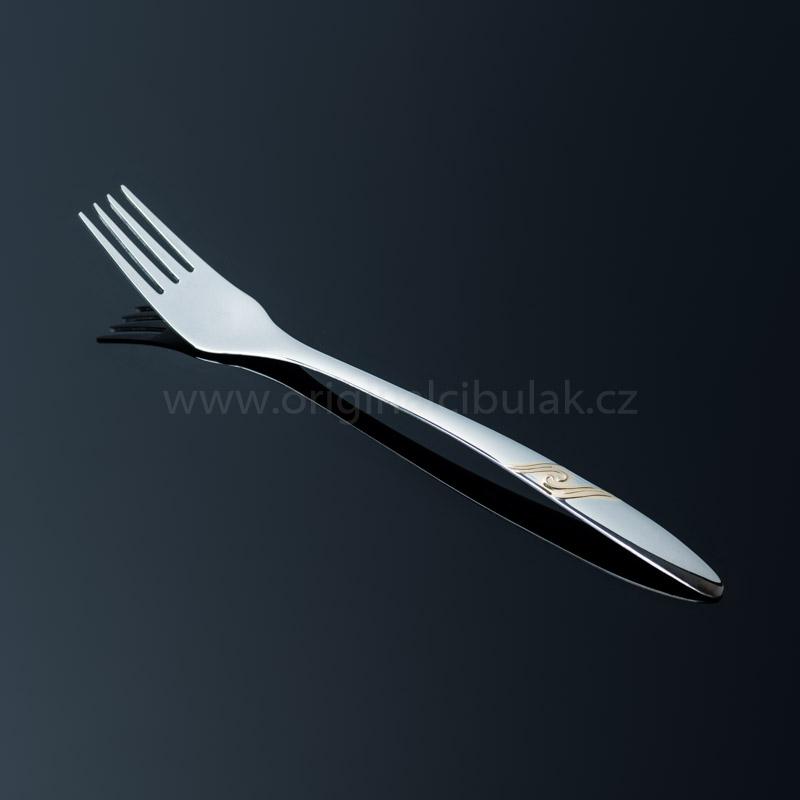 příbory jídelní Romance Gold zlacená souprava pro 6 osob 24 ks Toner nerez 6005