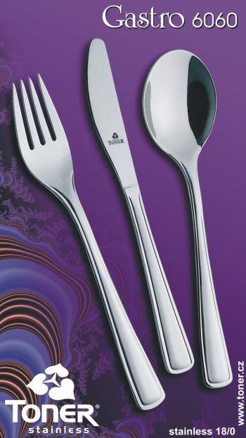 Nůž jídelní TONER Gastro 1 ks nerez 6060