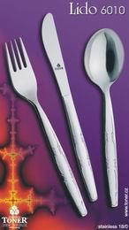 Toner nůž jídelní Lido 1 ks nerez 6010