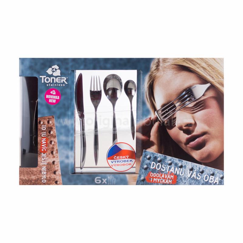Vidlička jídelní Toner Elegance 1 ks nerez 6014