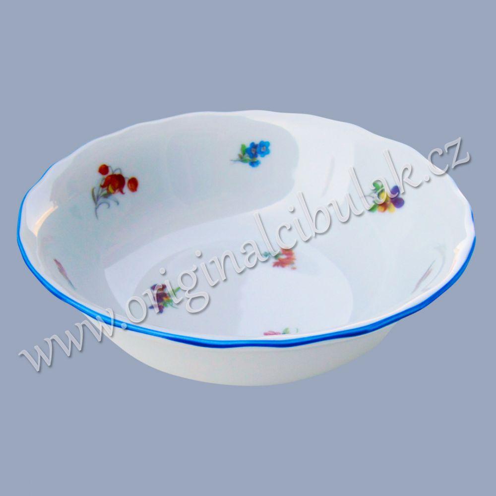 Miska na kompot 14 cm házenka Rakouská modrá linkaoriginální porcelán Dubí
