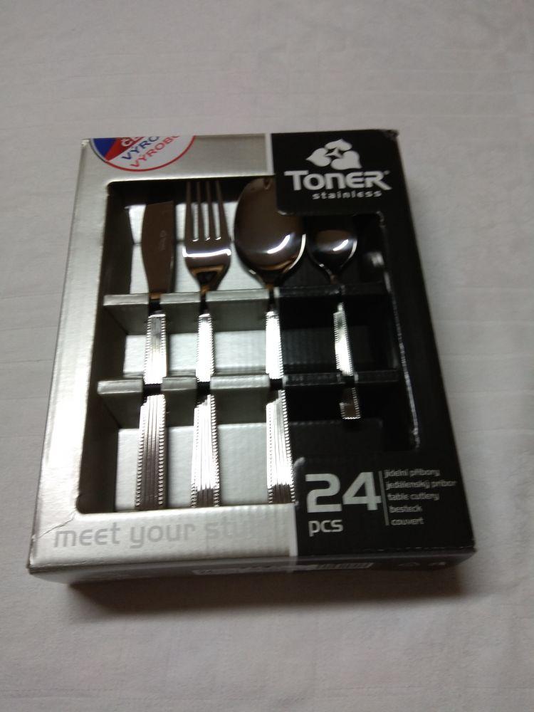 vidlička Toner Nora jídelní příbory 6062
