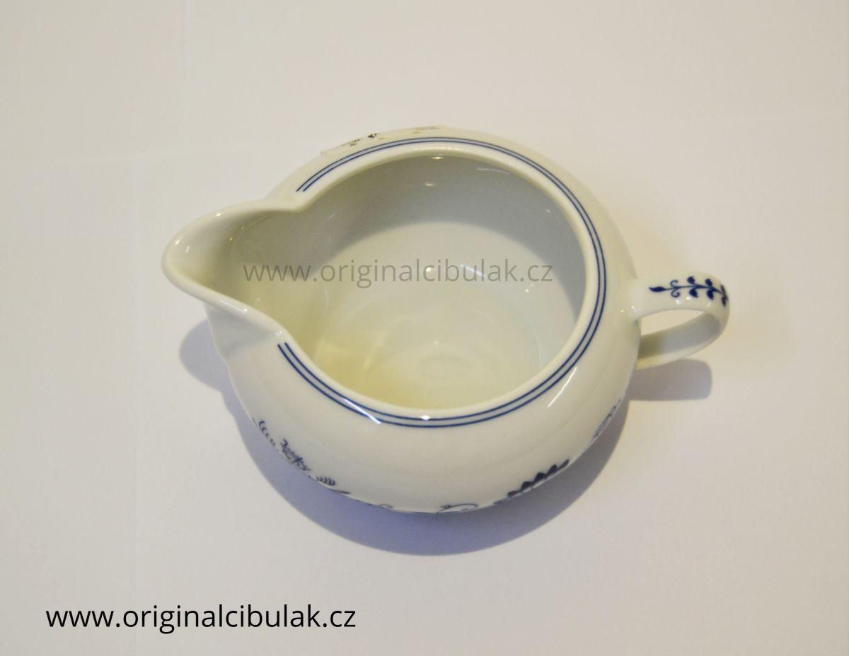cibulák Henriette mlékovka 0,22 L henrieta Saphyr Thun 1 ks cibulákový porcelán Nová Role