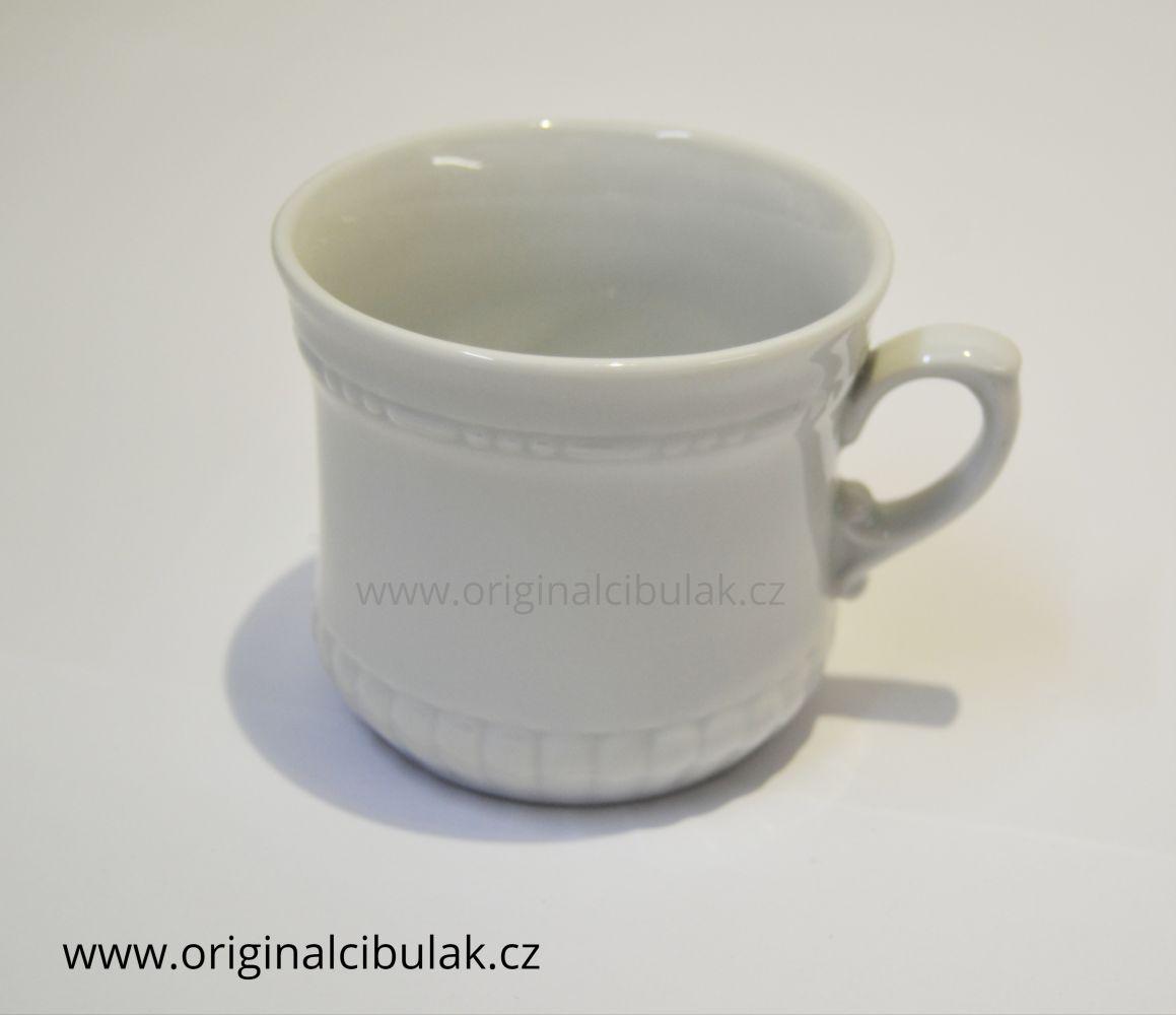 hrnek Perlový malý 0,26 l bílý porcelán Dubí