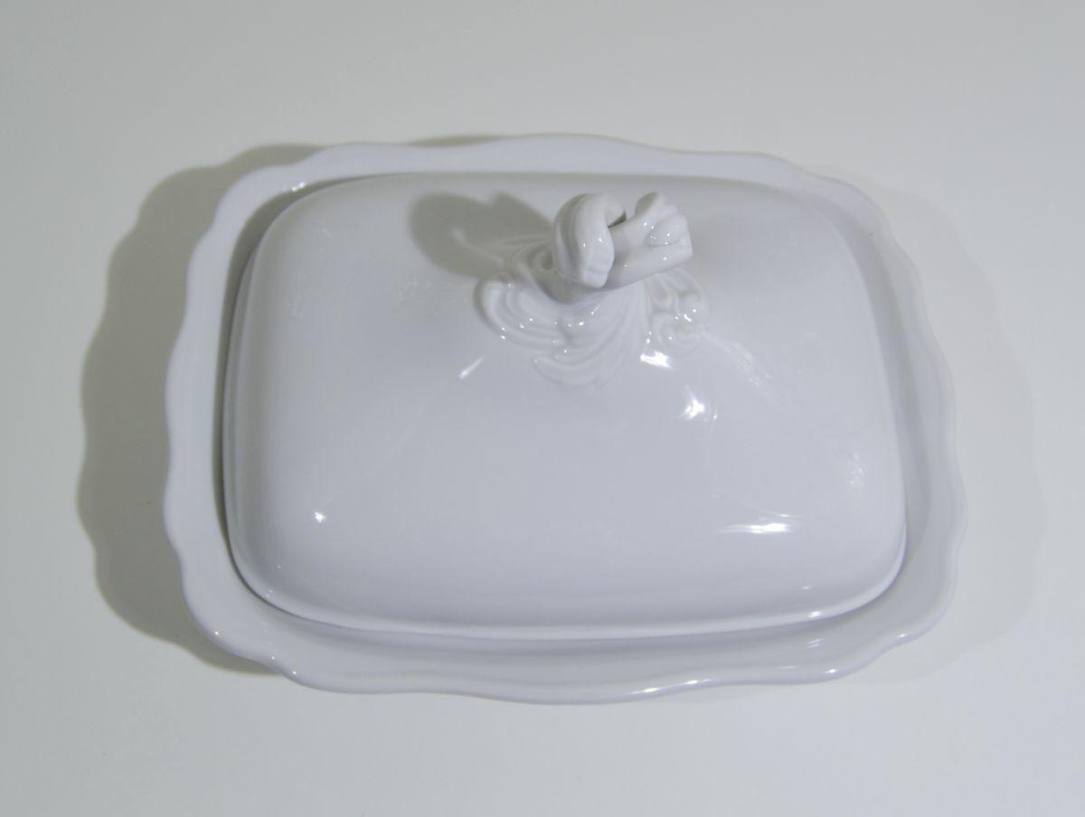Mísa ragout s víkem bílá 0,40 l Český porcelán Dubí