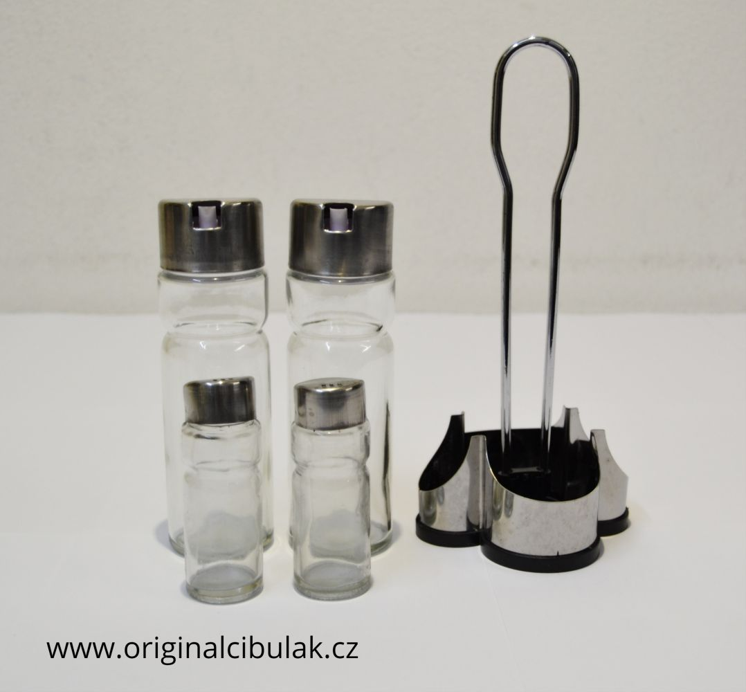 menážky 5 dílů sůl pepř ocet olej 23 cm Berndorf Collini
