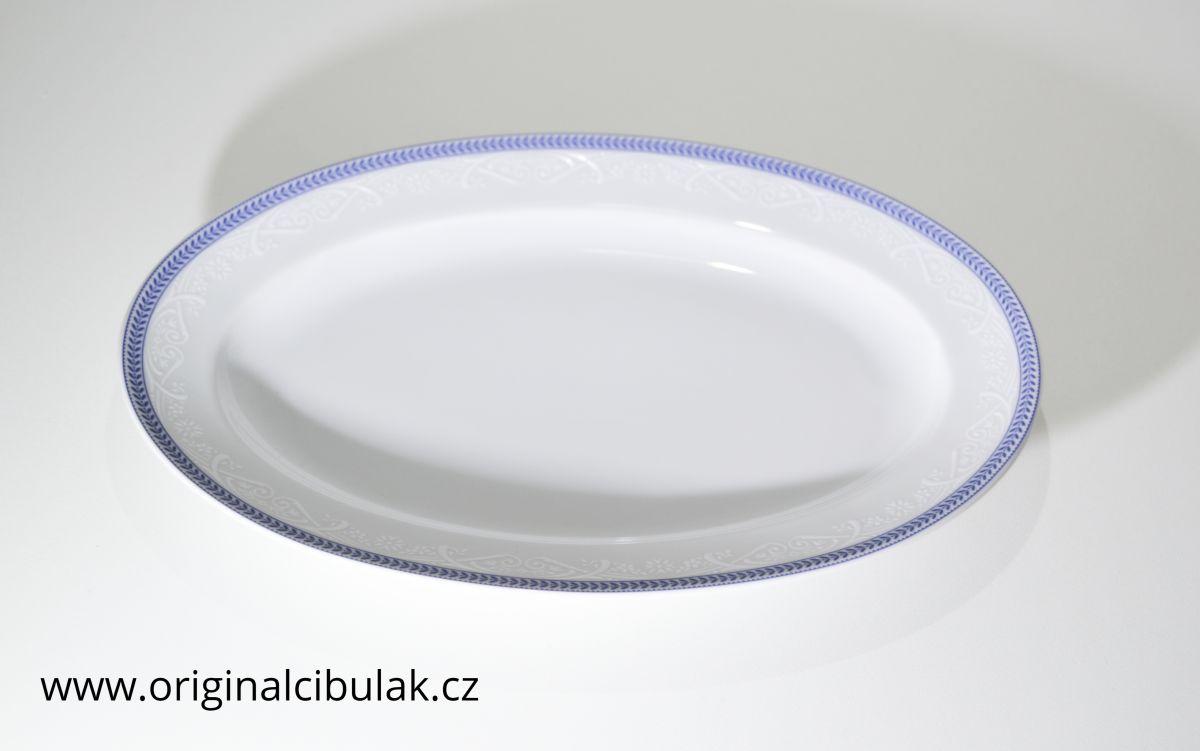 Hrnek Eva Opál 0.37 L modrá krajka 80136 Thun 1 ks český porcelán