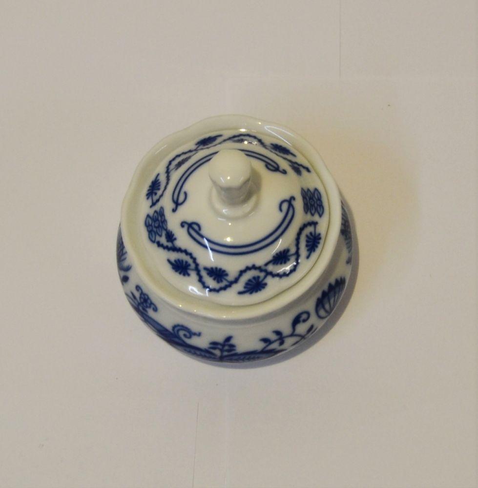 cibulák cukřenka Natalie Thun 0,35 L cibulákový porcelán Nová Role