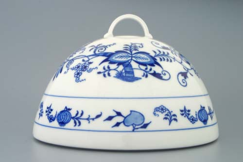 poklop cibulák Cloche na potraviny 20 cm originální český porcelán Dubí