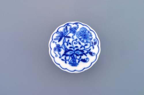 dóza cibulák pilulník kulatá s víčkem 5 cm originální český porcelán Dubí