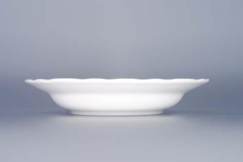 Český Porcelán cibulák Talíř hluboký 21 cm- originální cibulový porcelán Dubí 1.jakost