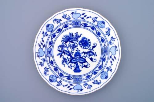 Cibulák talíř mělký 26cm - originální cibulový porcelán Dubí 1.jakost 10005
