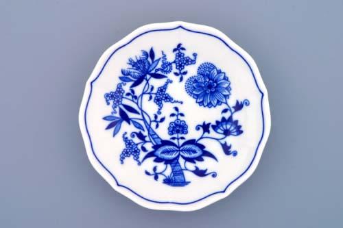Cibulák podšálek A/1, 13 cm, originální cibulákový porcelán Dubí, cibulový vzor, 1.jakost 10017