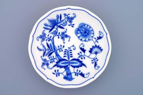 Cibulák podšálek C, 15,5 cm, originální cibulákový porcelán Dubí, cibulový vzor, 1.jakost 10019