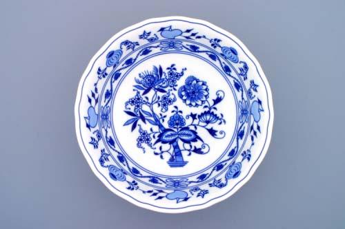 Cibulák mísa kulatá hluboká 28 cm originální cibulákový porcelán Dubí, cibulový vzor, 1.jakost 10039