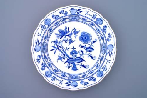 Cibulák mísa kulatá hluboká 31 cm originální cibulákový porcelán Dubí, cibulový vzor, 1.jakost 10040