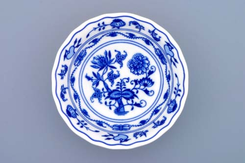 Cibulák miska kompotová vysoká 14 cm originální cibulákový porcelán Dubí, cibulový vzor, 1.jakost 10047
