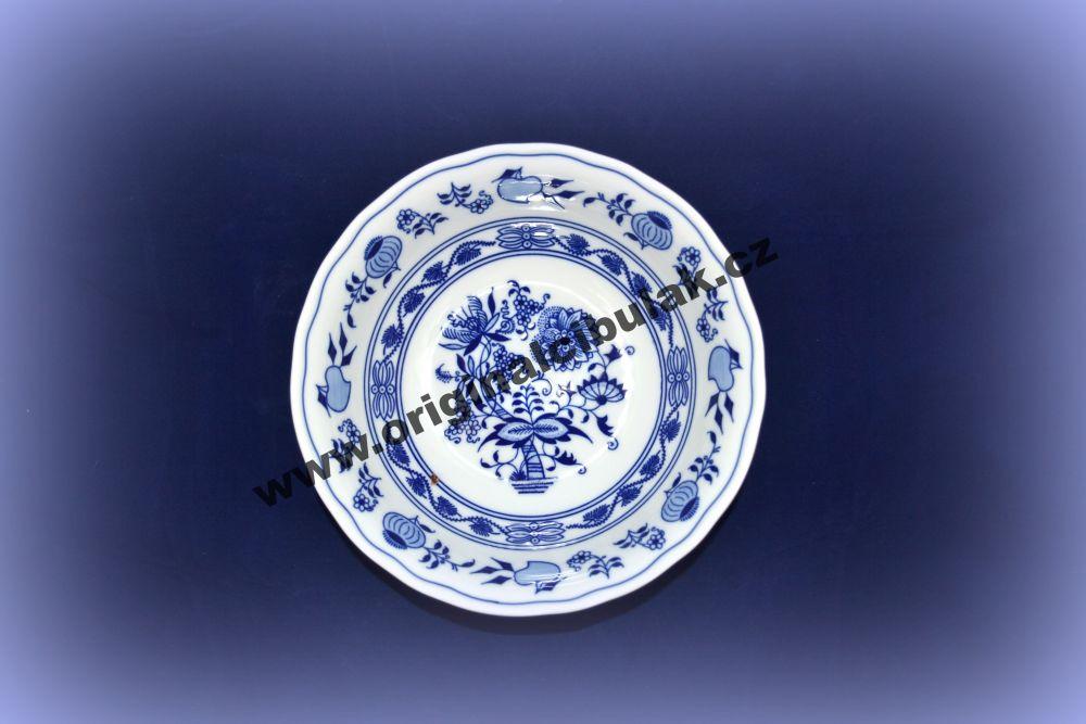 Cibulák mísa kompotová vysoká 21 cm originální cibulákový porcelán Dubí, cibulový vzor, 1.jakost 10053