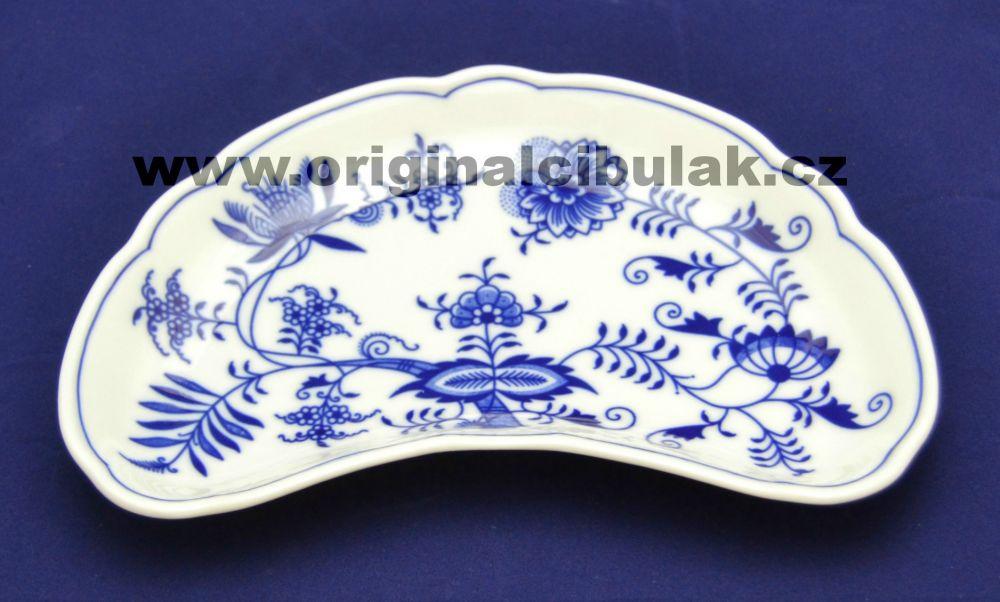 Cibulák miska na kosti 22 cm originální cibulákový porcelán Dubí, cibulový vzor, 1.jakost
