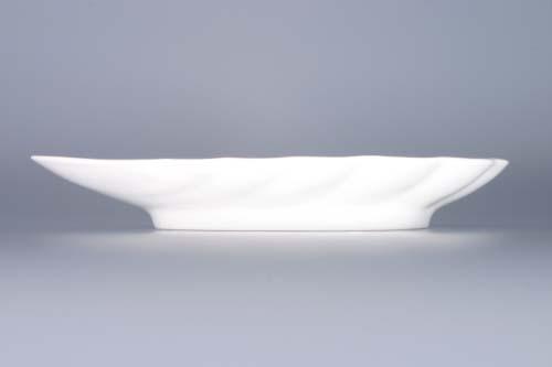 Cibulák miska mušle 23 cm originální cibulákový porcelán Dubí, cibulový vzor, 1.jakost