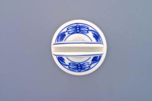 Cibulák stojánek na jmenovky 7 cm originální cibulákový porcelán Dubí, cibulový vzor, 1.jakost