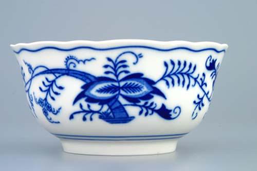 Cibulák bowl velký 12 cm originální cibulákový porcelán Dubí, cibulový vzor, 1.jakost