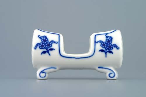 Cibulák Dóza na párátka 8 cm originální cibulákový porcelán Dubí, cibulový vzor, 1.jakost