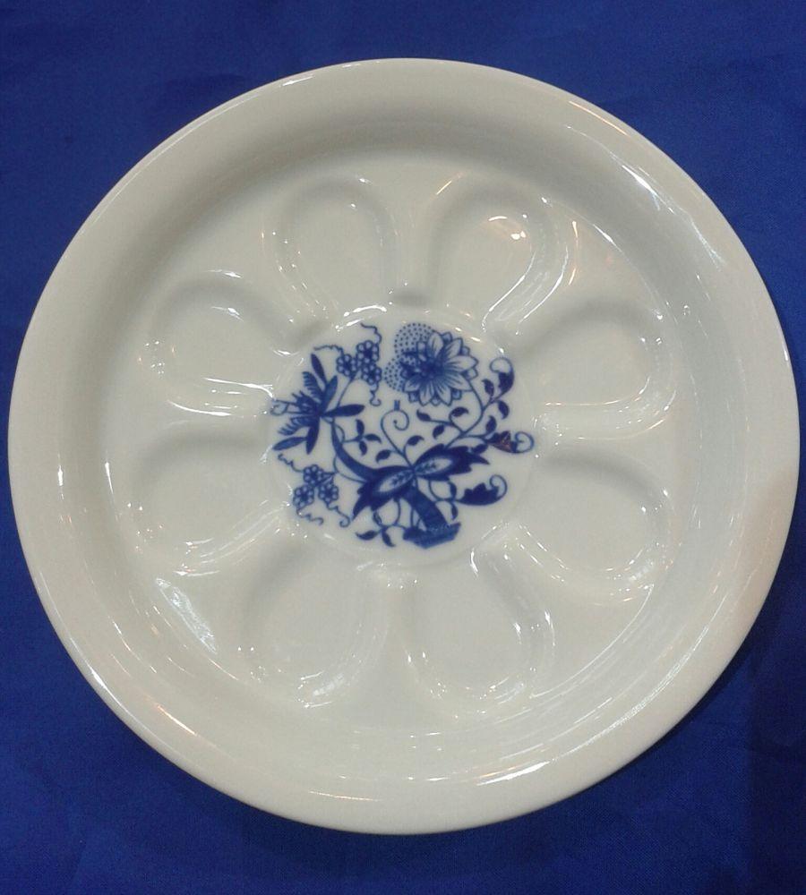 Cibulák pivní tácek 13 cm originální cibulákový porcelán Dubí, cibulový vzor, 1.jakost 10243