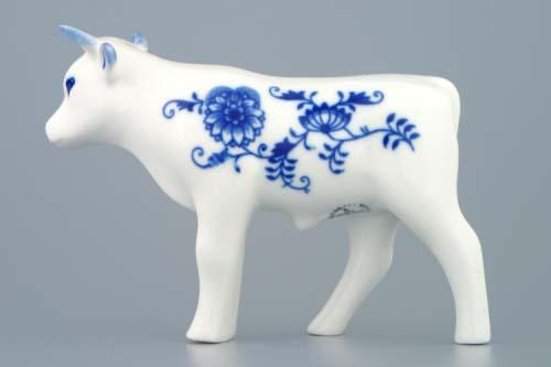 Cibulák Volek 13 cm originální cibulákový porcelán Dubí, cibulový vzor, 1.jakost