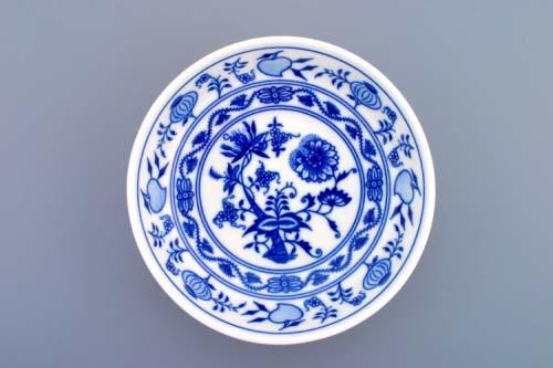 Cibulák Miska hladká nízká 16,2 cm originální cibulákový porcelán Dubí, cibulový vzor, 1.jakost